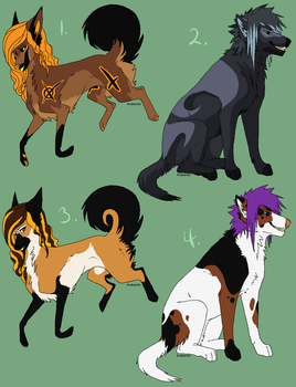 Cheap canine adopts - 1/4 OPEN by SAdoptsS