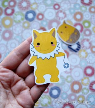 Hypno Sticker and Magnet by pixelboundstudios