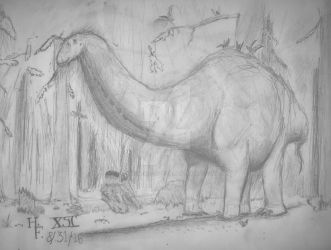 Apatosaurus by XStreamChaosOfficial
