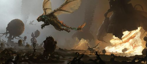 Creature Planets Swift Wing by tobylewin