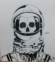 Dead Spaceman by DragonLord2471