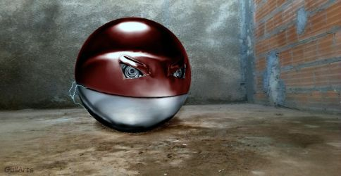 Voltorb by Guilarts