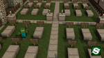 Minecraft Zombie Grave by Seri0us1y
