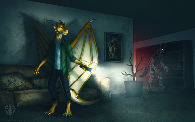 CM - Golden.Dragon by ghoulchris