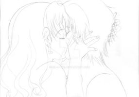 WiP Kiss Nomi-chan and Seiichi 3rd by Sil-Coke
