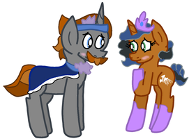 Sombra's Parents Designs by Snoopy7c7