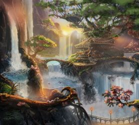Earth Scenery Concept art #1 by Mymy-TaDa