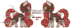 {AUCTION} English Breakfast HoloCoffee CLOSED by kwibbles
