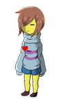 [F2U] Bouncing Frisk pagedoll by Thenoteofthedeath