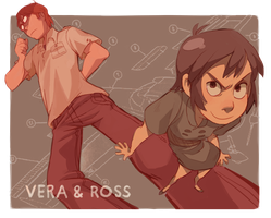 Vera and Ross by YanYu