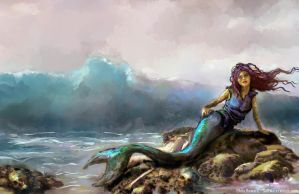 Mermaid by the0phrastus