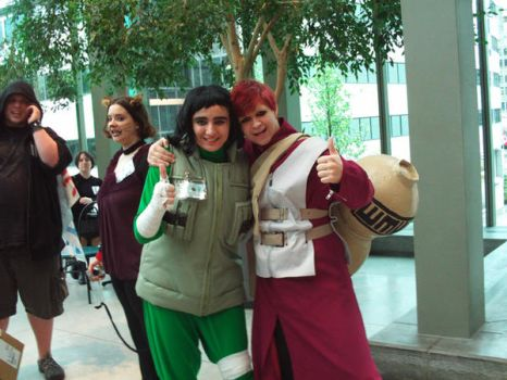Me and Gaara by LeonKSpiderKitty