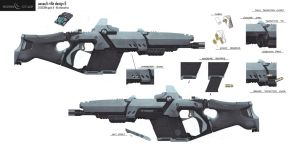 Eden Star Assault Rifle Concept by gavinli