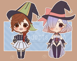 Witch adoptables batch 10 [OPEN] [SET PRICE] by noireadopts