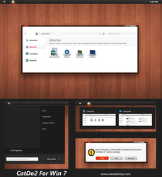 Cado2 Theme  for Windows 7 by Cleodesktop