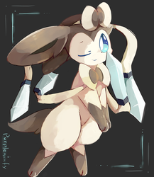 Steel Sylveon by purpleninfy