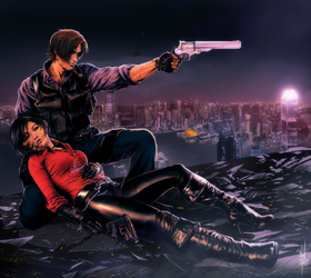 Leon-Not if I can help it by Huue