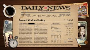 Newspaper Rainmeter Theme by DYIDDO