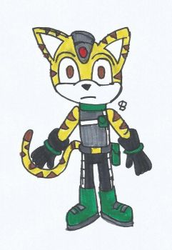 Eggman Empire: Tim the Tiger by SPATON37