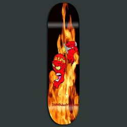 Stain Industries skateboard 01 by MadRob