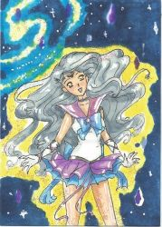 ACEO 04- Sailor Pollux by Sir-Frog