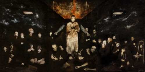 BROKEN - THE LAST SUPPER by kevissimo
