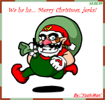 Wario Claus by YoshiMan1118