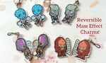 Mass Effect Charms by Shattered-Earth