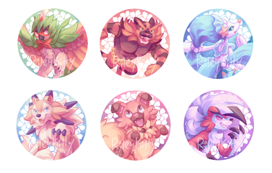 Buttons- Alola Mons by RileyKitty