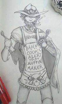 Dramatic cooking with McCree by Martiverse