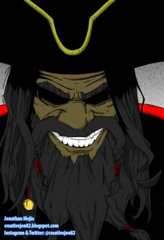 BlackBeard by henokvr22