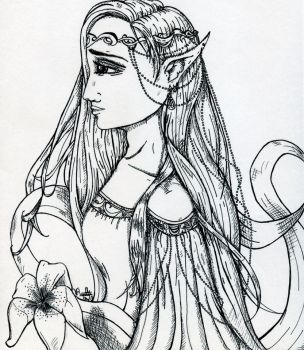 The Elven Princess by Winterlilly2089