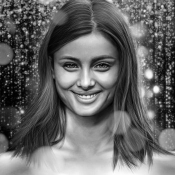 Taylor Hill Drawing by JoeDieBestie