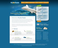 Travel Company Layout by Nas-wd