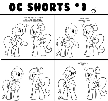 OC Shorts 1 by Marmorexx