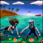 A Snorkelling We Will Go ~ by Senshee