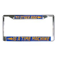 Back To The Future Licence Plate Frame by Enlightenup23