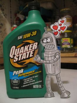 Bender in Love :Paper Child: by Yuffie1972