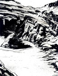 Crater Inks by Monkeyslunch