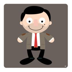 mr bean by striffle