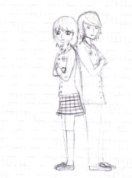 Couple by v-x-x-x