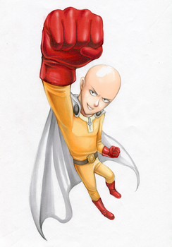 One Punch Man! by RoyalThebat