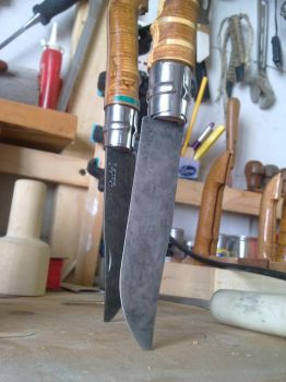 Opinel Custom series antique finish 2 by N74