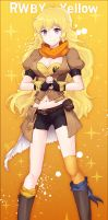 RWBY - Yellow Yang Xiao Long by Minari23