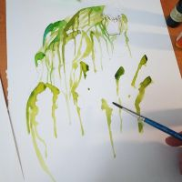 Commission: Hulk Saucy Watercolor Dev by RobDuenas