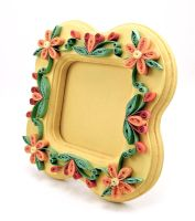 Quilled Spring Picture Frame by DreamWarrior