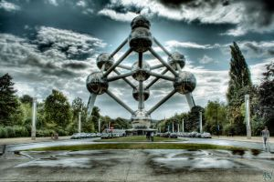 Atomium Brussels HDR by AyseSelen