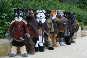 Anthrocon Vikings! by temperance