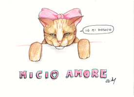 Micio Amore by XDinky