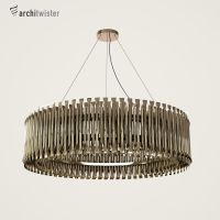 Matheny Suspension Light (3d Model) by architwister
